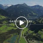 Video Gasteiner Berge von oben
